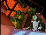 Черепашки ниндзя сезон 2 серия 5 черепашки в космосе часть 5 воины трицератонов